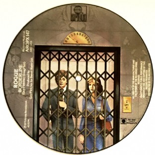 "Rogue - Borderline/The Last Goodbye (7"") (Picture Disc) (EX/NM)"